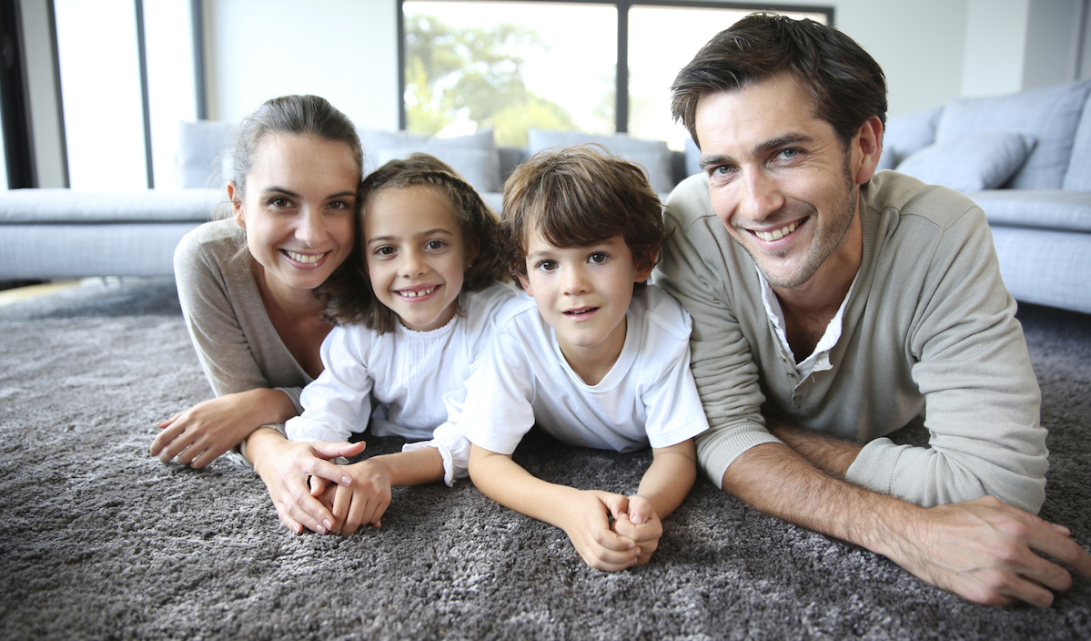 carpeting is soft, warm and sound absorbing